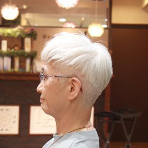 女性のショートヘア Tさま編 長堀橋美容室 手話美容室