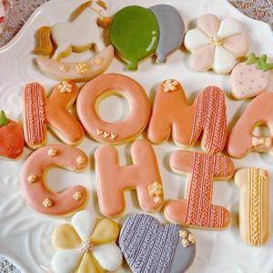 アイシングクッキーとメレンゲクッキー