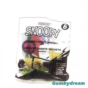 "McD Happy Meal Snoopy Keychain ""Secret Agent Snoopy"" 2018"