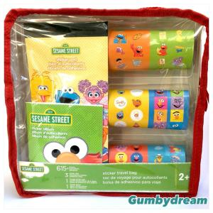 Sesame Street Sticker Travel Bag 2012