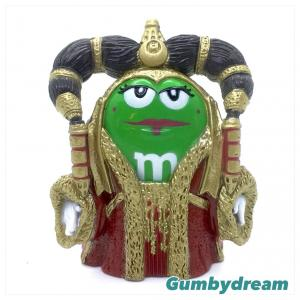 "Hasbro Special Collectors Edition Star Wars Chocolate mPIRE ""Green as Queen Amidala"" 2005"