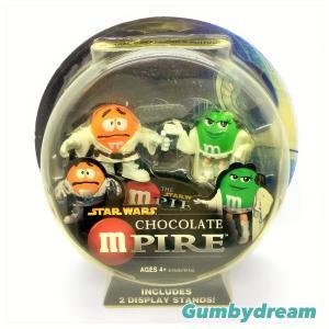 "Hasbro Special Collectors Edition Star Wars Chocolate mPIRE ""green as Princess Leia"" 2005"