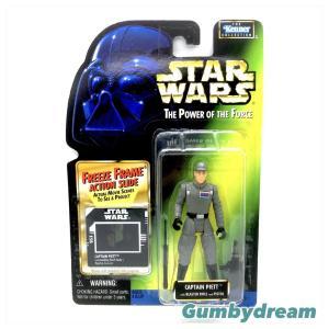 """Kenner Star Wars Green Card Freeze Frame """"Captain Piett"""" 1997"""
