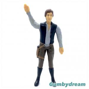 """Just Toys Star Wars Bend Ems """"Han Solo"""" 1993"""