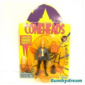 """Playmates Coneheds Action Figure """"Connie Conehead in Pre-Adult Uniform"""" 1993"""