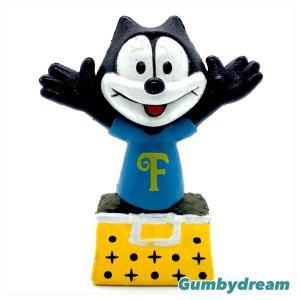 "Sunkisses Hawaii Felix the Cat 2.7"" Figurine ""Felix in the Bag"" 1990s"