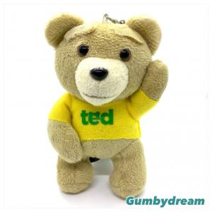 """Ted 5"""" Yellow T-Shirt Cell Phone Strap 2013"""