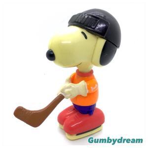 """McDonald's Happy Set (JP) Sporty Snoopy """"Hockey"""" 2002"""