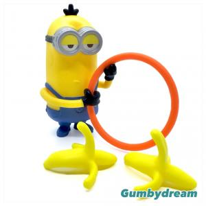 "McD happy Meal Despicable Me 3 ""Banana Flipper Minions"" 2017"