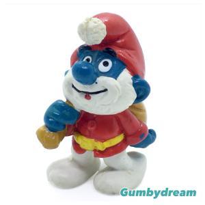 """Schleich Regular Smurf 2.0124 """"Santa Smurf"""" 1981"""