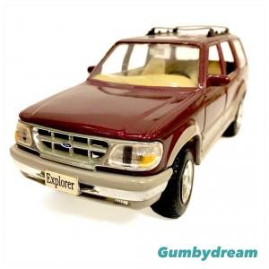 "Maisto 1/24 Scale Diecast Model Car ""Second Generation Ford Explorer 1995"""