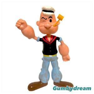 "NJ Croce Popeye the Sailor 6.5"" Bendable ""Popeye"" 1993"