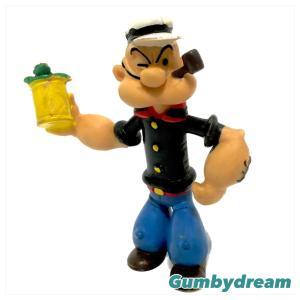 "Comics Spain Popeye the Sailor ""Popeye"" 3 inch Bendable 1986"