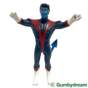 "Just Toys The Uncanny X-Men Bendable ""Nightcrawler"" 1991"