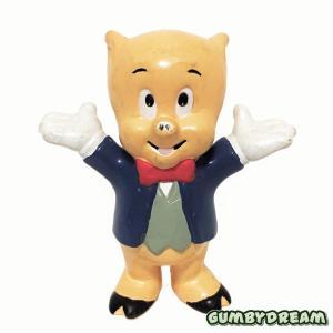 "Applause Looney Tunes PVC ""Porky Pig"" 1988"