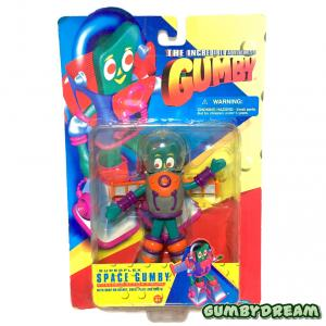 """Trendmasters The Incredible Adventures of Gumby """"Space Gumby"""" MIP 1996"""