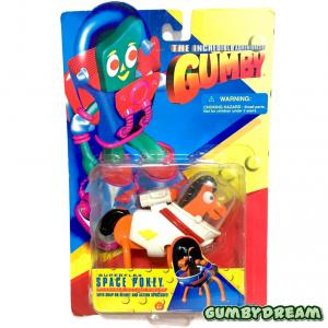 """Trendmasters The Incredible Adventures of Gumby """"Space Pokey"""" MIP 1996"""