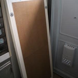 狭い玄関こそ大型鏡