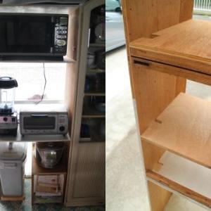 キッチンシェルフの改修