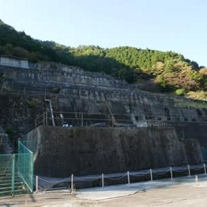 神子畑選鉱場跡へ