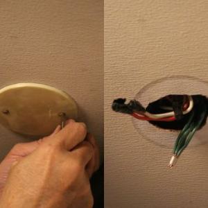 トイレの電気工事