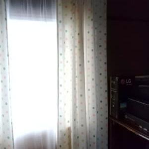 天井からのカーテンレール