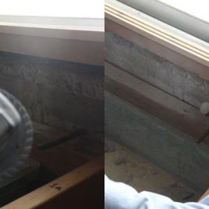 邪魔な鉄筋とコンクリート
