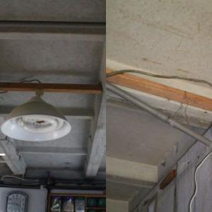 エアコン配線の整理