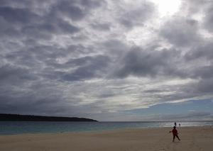 次の朝ドラの舞台は、宮古島です!~前浜ビーチ~