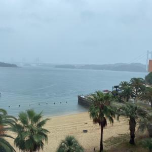 ★雨の瀬戸内海