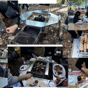 小金井公園BBQ♪