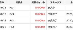 500円換金【ポイントタウン】8月4回目!26万円突破!