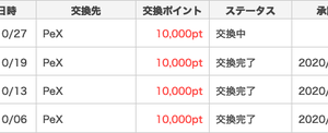 500円換金【ポイントタウン】10月4回目!