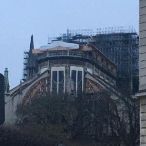 2020年1月 パリへ ③ ノートルダム寺院、ルーブル、オペラ座、