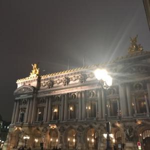 2020年1月 パリへ ストの中、全て徒歩で3万5千歩