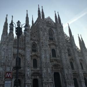 2020年 2月 ミラノへ お友達のアパートから大聖堂へ