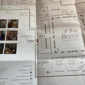 2020年 2月 ミラノへ ブレラ美術館