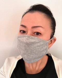 布マスク初体験~