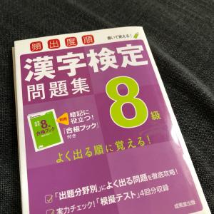 公文と進研ゼミの効果〜漢検8級と漢字大テスト