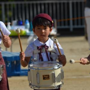 年長弟チャン幼稚園運動会