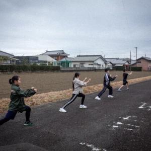 今日の稽古、草の根運動実が結びました、橋田さんおめでとう