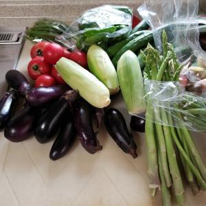 野菜高騰のおり、うれしい贈り物