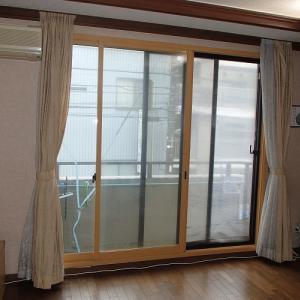 ガラスの熱割れ 保険適用の工事