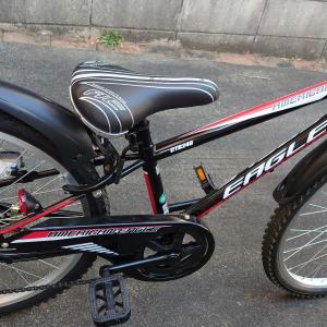 息子君の自転車