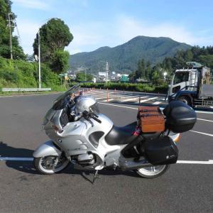 「#バイクに革トランク載せ隊」初陣(ういじん) 〜旅バイク完成〜