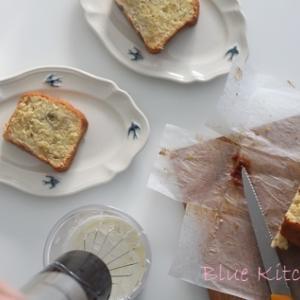 【レシピ】ばななのパウンドケーキ