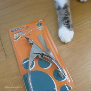 斬、使いやすい猫用の爪切り。