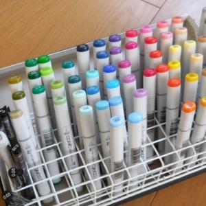 200円で収納見直し、70本のペンに定位置をつくる。
