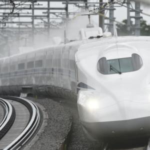 新しく走り始めたN700S新型新幹線