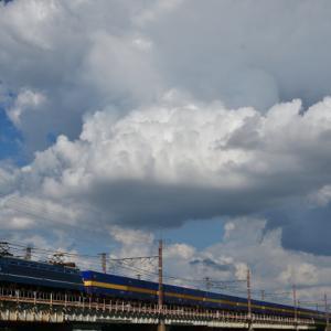編成美な国鉄形機関車